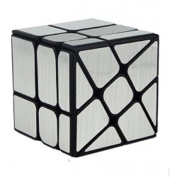 Cube 3x3 Wind Mirror Argent - Moyu