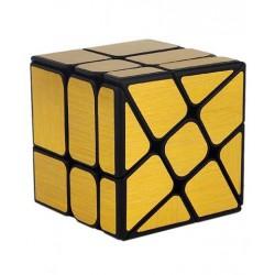 Cube 3x3 Wind Mirror Doré - Moyu
