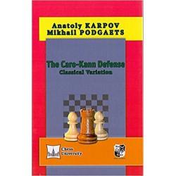 A.Karpov, M.Podgaets - Caro-Kann Defense. Classical Variation