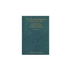 UTTERBERG - De la Bourdonnais versus McDonnell 1834