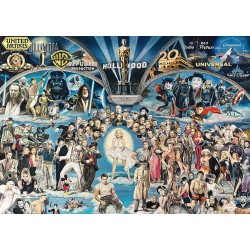 Puzzle 1000 pièces - Hollywood the Universe of Glory