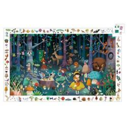 Puzzle 100 pièces - La Forêt Enchantée