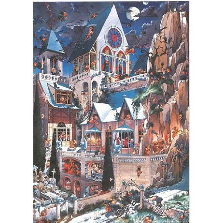 Castle of Horrors, 2.000 pièces