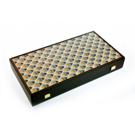 Backgammon Ethnic Art 47cm