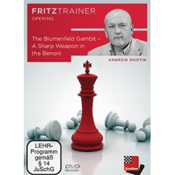 DVD Martin - Blumenfeld Gambit - A sharp weapon in the Benoni