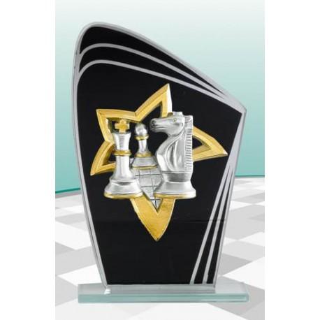 Trophée d'échecs 20 cm