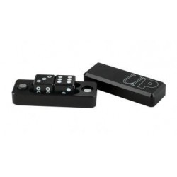 Dés en métal Gravity Dice Metal Black x2