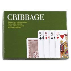 Cribbage avec cartes