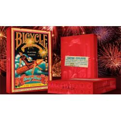 Cartes à jouer Bicycle Firecracker