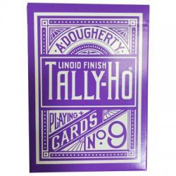 Cartes à jouer Tally Ho Circle Reverse - Purple