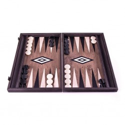 Backgammon Bois Green Oak 48cm