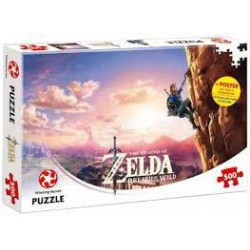 Puzzle 500 pièces - Legend of Zelda Breath of the Wild