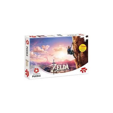 Puzzle 500 pièces - Legend of Zelda Breath of the Wild