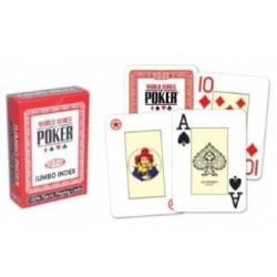 Cartes à jouer WSOP Jumbo Rouge