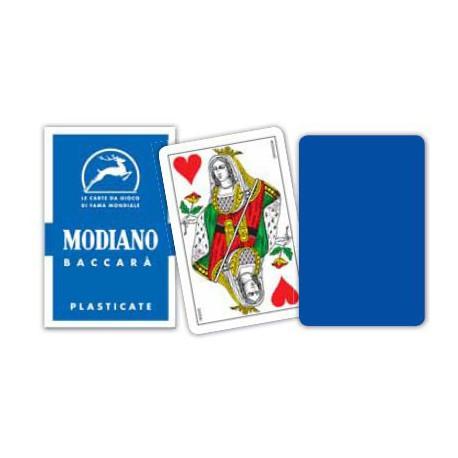 Cartes à jouer Baccara - Bleu