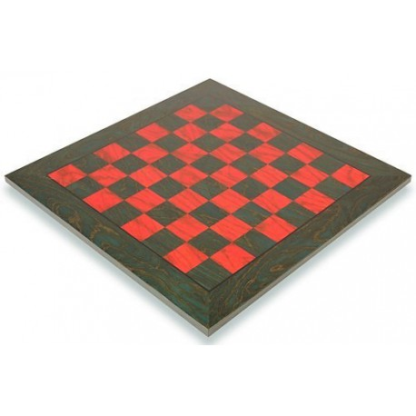 Echiquier Erable Rouge/Vert 43cm - Taille 4.5