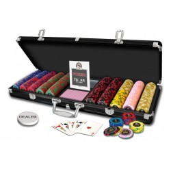 Mallette Poker 500 jetons Royal