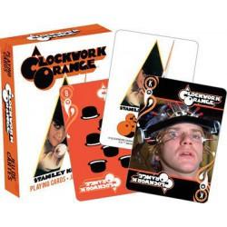 Cartes à jouer Orange mécanique