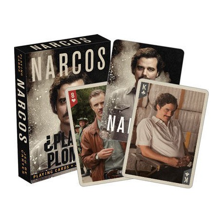 Cartes à jouer Narcos Series