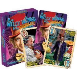 Cartes à jouer Charlie et la chocolaterie - Willy Wonka