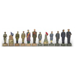 Figurines Mao Tse Tung vs Nationalistes - Taille 3