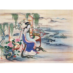 Puzzle 1000 pièces - The beautiful Chinese Yang Guifei