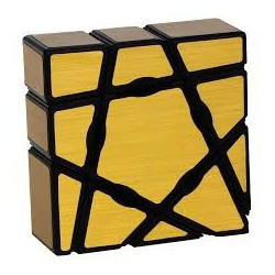 Cube Ghost 3x3x1 Gold