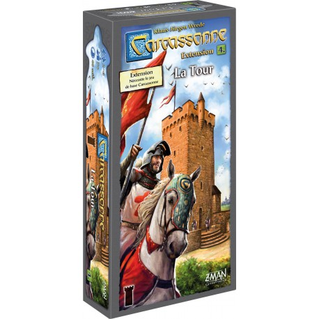 Carcassonne : La Tour - Extension n°4