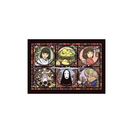 Puzzle acrylique 208 pièces - Le voyage de Chihiro