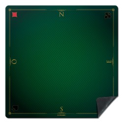 Tapis de cartes Prestige 60x60cm vert