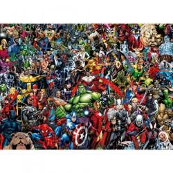 Puzzle 1000 pièces - Impossible puzzle Marvel