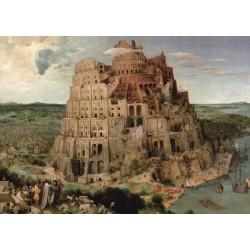 Puzzle 2000 pièces - Tour de Babel de Bruegel