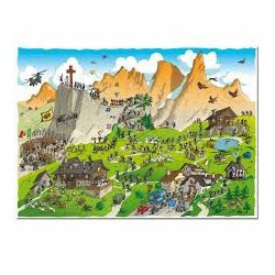 Puzzle 1080 pièces - Trekking