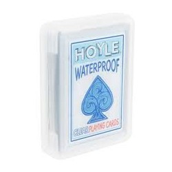 Cartes à jouer Bicycle Waterproof - Plastique transparent