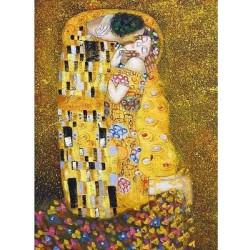 Puzzle 500 pièces - Le Baiser de Klimt