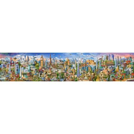 Puzzle 42000 pièces - Le Tour du Monde