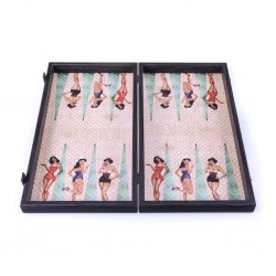 Backgammon Pin Up 48cm