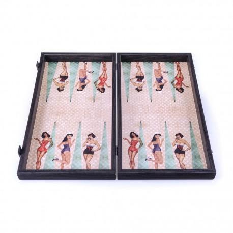 Backgammon Pin Up 48cm