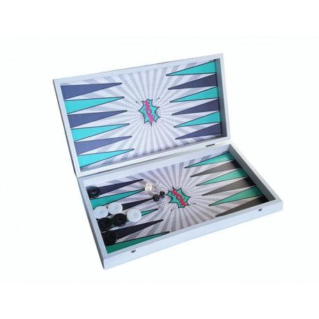 Backgammon Pop Art 30cm