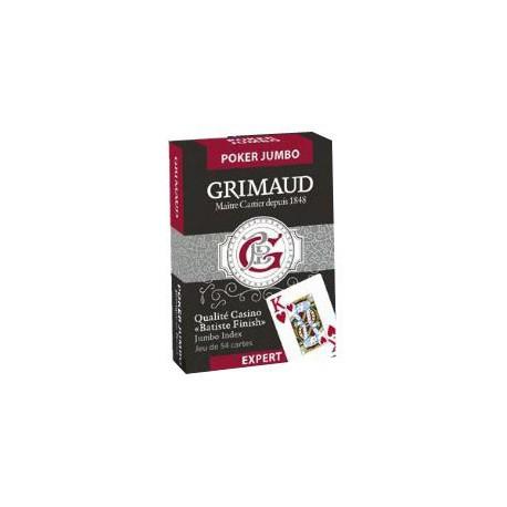 Cartes à jouer Grimaud Expert Bridge symétrique