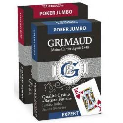 Cartes à jouer Grimaud Expert Poker Jumbo
