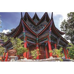 Puzzle 1500 pièces - Temple chinois