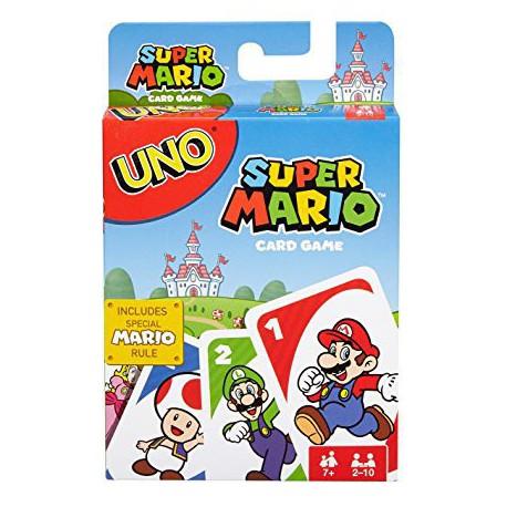 Uno Mario Bros (Anglais)