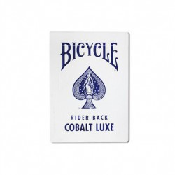 Cartes à jouer Bicycle Metalluxe Cobalt Blue