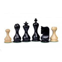 Pièces d'Echecs Antique Black - Taille 5