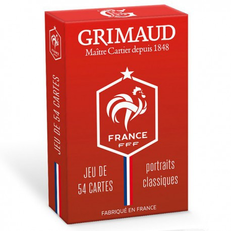 Cartes à jouer Grimaud classique Rouge