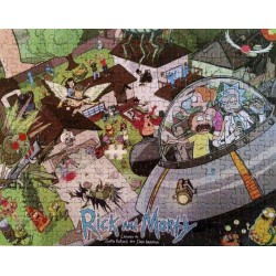Puzzle 300 pièces - Rick and Morty