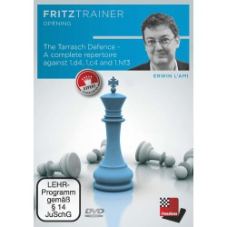DVD l'Ami - The Tarrasch Defence - A complete repertoire against 1.d4, 1.c4 and 1.Nf3