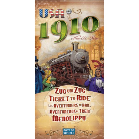 Les Aventuriers du Rail : USA 1910 - Extension