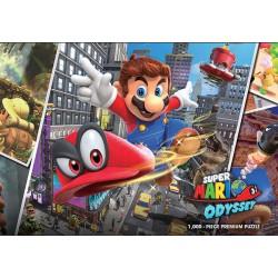 Puzzle 1000 pièces - Super Mario Odyssey Snapshots